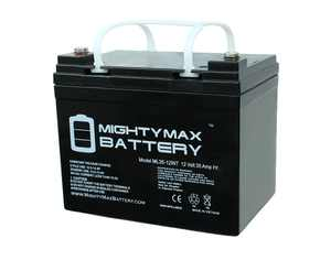 12V 35AH SLA Internal Thread Replacement Battery compatible with Minn Kota Sevylor Marine