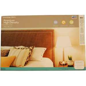 "Morning Glory High Density Craft & Cushion Foam, 24"" x 36"" x 2"", 1 Each"