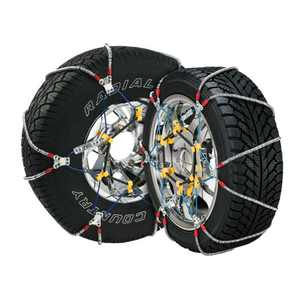 Super Z 6 Compact Cable Tire Snow Chain Set for Cars, Trucks, and SUVs | SZ135