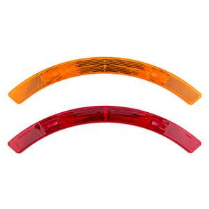 Sunlite Reflector Set, Wheel Only, Red/Yellow, Long