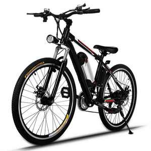 """250W Electric Bike Adults Electric Mountain Bike, 26"""" Electric Bicycle 15Mph with Removable 8AH Lithium Battery, Professional 21 Speed Gears E-bike"""