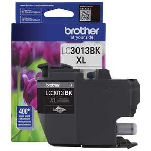 Brother Genuine LC3013BKS High-yield Black Ink Cartridge 24337417