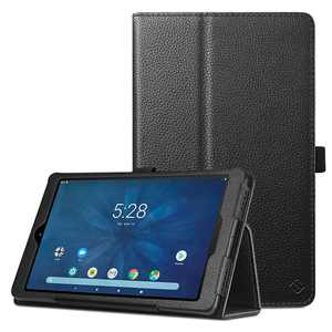 "Fintie PU Leather Cases for onn. 8"" Tablet Pro - Folio Cover With Stylus Holder, Black"