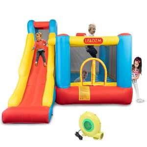 Ktaxon Kids Inflatable Bouncer House Jumper Slide Castle with UL Certified Blower
