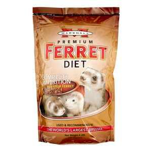 Marshall Pet Products Premium Ferret Food, 4 Lb