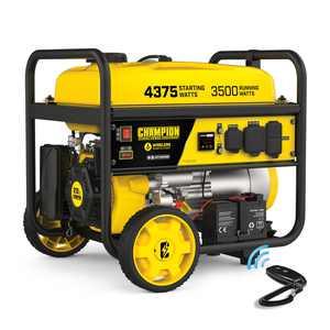 Champion Power Equipment 4375/3500 Watts RV Ready Portable Generator, Remote Start (CARB)