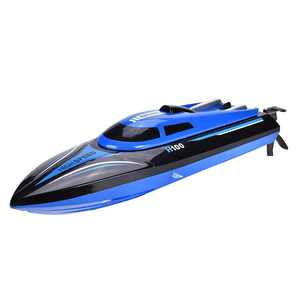 Yosoo 2.4GHz Remote Control 4 Channel 25km/h Boat Racing Speedboat Model Toy Ship ,RC Boat, RC Racing Boat