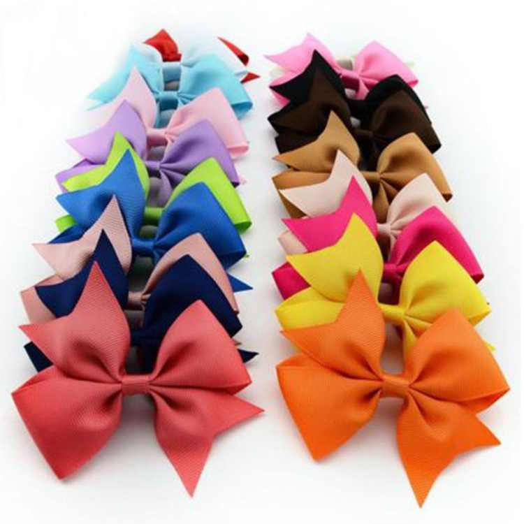 10Pcs Ribbon Hair Bows Clips Hairpin Hair Accessories for Baby Girls Kids Teens Toddlers Children