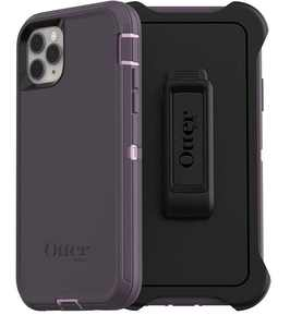OtterBox Defender Carrying Case (Holster) Apple iPhone 11 Pro Max Smartphone, Purple Nebula
