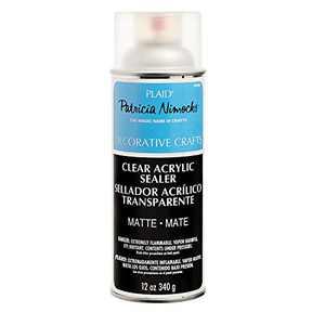 Plaid Patricia Nimocks Clear Acrylic Sealers (12-Ounce), CS200306 Matte