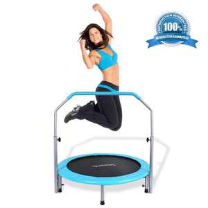 SereneLife 40'' Foldable Round Trampoline