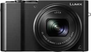 Panasonic - LUMIX ZS100 1-inch 20.1-Megapixel Sensor Point and Shoot Digital Camera with LEICA DC 10X Lens - Black