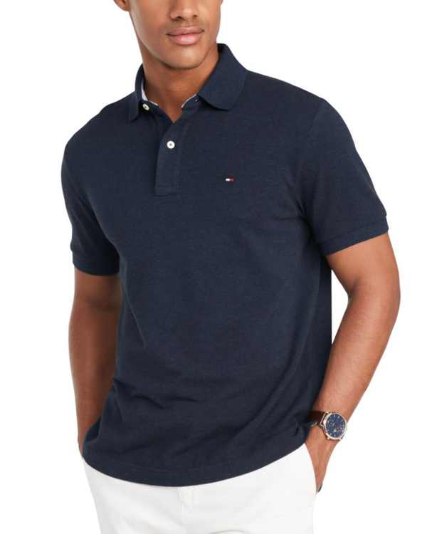 Men's Custom-Fit Ivy Polo, Created for Macy's