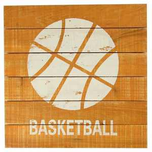 Basketball Plank Art - Pillowfort™