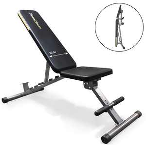Fitness Reality 1000 'Super Max' Weight Bench with 800 Lb. Capacity 12-Position Adjustable Utility FID