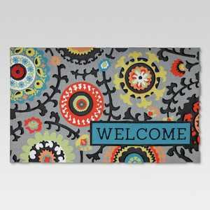 """18""""x30"""" Rubber Doormat Welcome - Threshold™"""