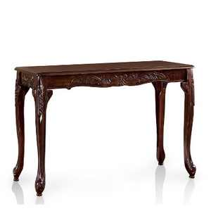 Jennifer Traditional Cabriole Sofa Table Dark Red - HOMES: Inside + Out