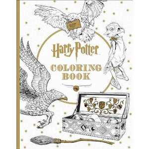 Harry Potter The Coloring Book 1 by Scholastic Inc (Paperback)