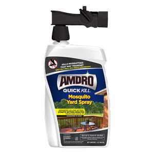 Amdro Quick Kill Mosquito Yard Spray Hose End, 32oz