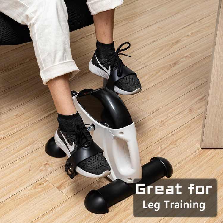 Ktaxon Portable Under Desk Bike, for Arm/Leg Fitness Exercise