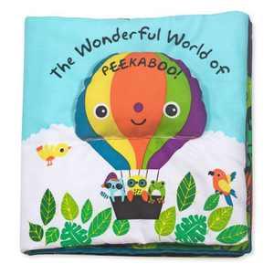 Melissa & Doug Soft Activity Baby Book - The Wonderful World of Peekaboo!