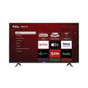 "TCL 55"" Class 4-Series 4K UHD HDR Smart Roku TV – 55S435"