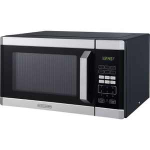 BLACK+DECKER 0.9 cu ft 900W Microwave Oven - Stainless Steel
