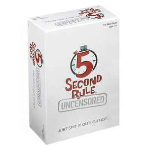 5 Second Rule Uncensored Board Game
