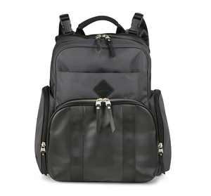 Ergobaby Anywhere I Go Diaper Backpack- Grey/Black
