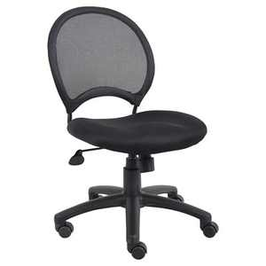 Mesh Chair Black - Boss Office Products