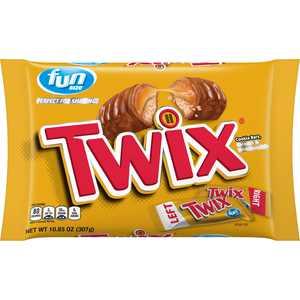 TWIX Caramel Chocolate Cookie Candy Bars, 10.83 Oz