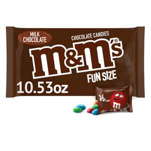 M&M'S Milk Chocolate Fun Size Halloween Candy Bag - 10.53oz