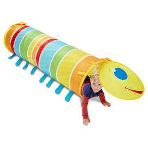 Melissa & Doug Sunny Patch Giddy Buggy Crawl-Through Tunnel (almost 5 feet long)