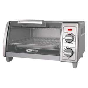 BLACK+DECKER 4 Slice Toaster Oven Stainless Steel TO1700SG