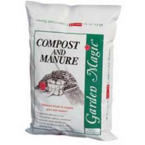 Michigan Peat Garden Magic Compost & Manure, 40lb