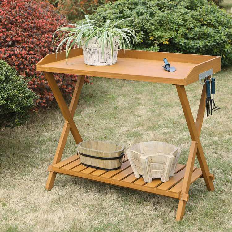 Convenience Concepts Planters and Potts Potting Bench