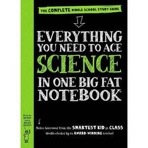 Everything You Need to Ace Science in One Big Fat Notebook : The Complete Middle School Study Guide - by Sharon Madanes (Paperback)