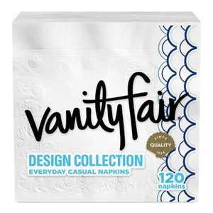 Vanity Fair Everyday Design Collection Napkins - 120ct