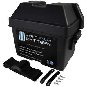 Group U1 SLA / GEL Battery Box for Kayak's Trolling Motor