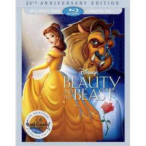 Beauty and the Beast - 25th Anniversary Edition (Blu-ray + DVD + Digital)