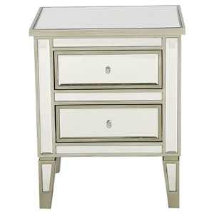 Crawford End Table Champagne - Christopher Knight Home