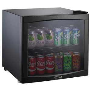 Sunbeam 1.7 Cu. Ft. Mini Refrigerator Beverage Center - Black BCB50