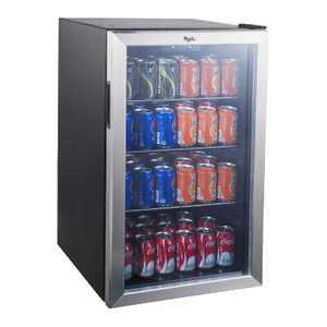 Whirlpool 4.5 Cu. Ft. Mini Refrigerator Beverage Center - Stainless Steel JC-133EZY