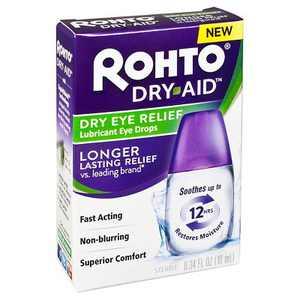 Rohto Dry Aid Lubricant Eye Drops - 10 ml