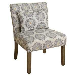 Parker Accent Chair with Pillow - HomePop