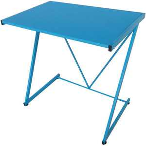 Urban Shop Z-Shaped Student Desk, Available in Multiple Colors