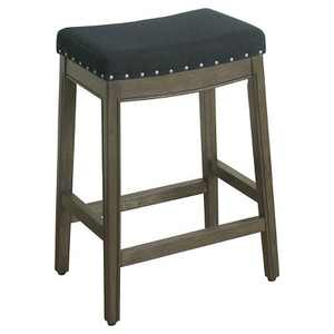 "26"" Blake Backless Counter Height Barstool with Nailheads - HomePop"