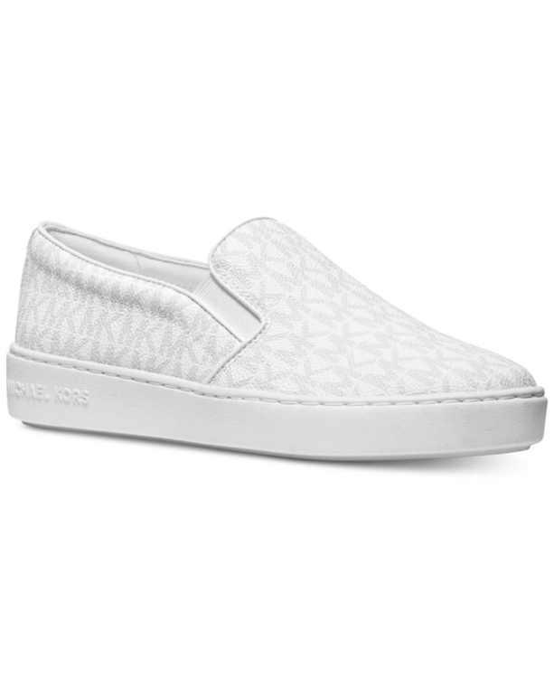 Keaton Slip-On Signature Logo Sneakers
