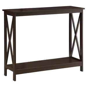 Oxford Console Table Espresso - Breighton Home