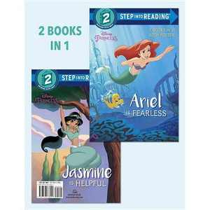 Ariel Is Fearless/ Jasmine Is Helpful (Paperback) (Liz Marsham & Suzanne Francis)